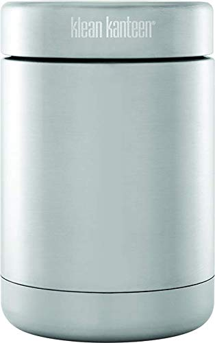 Klean Kanteen Food Canister Vacuum Insulated (with Insulated Lid), 8-Ounce, Brushed Stainless
