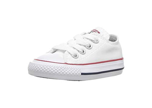 Converse Chuck Taylor All Star OX Toddler Shoes Optical White 7j256 (5 M US)]()