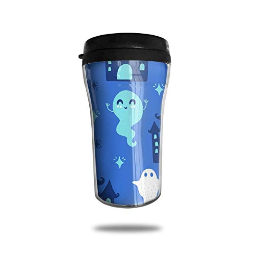 SGBTJKU Happy Halloween 8.5 Oz Tumbler-Vacuum Water Bottle Travel Mug Coffee Cup 8.5 Oz Coffee Mug Cup -