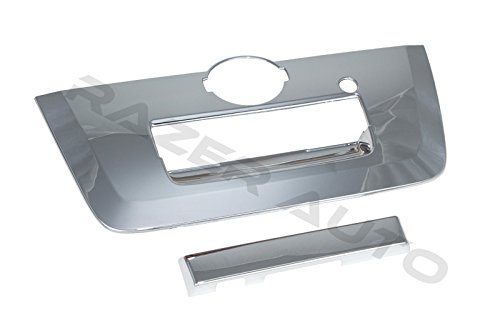 2013-2015 Nissan Frontier Chrome tailgate handle cover. ()