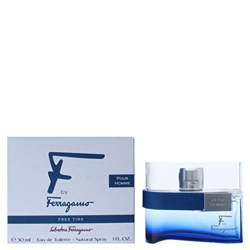 (Salvatore Ferragamo F Free Time Eau De Toilette Spray, 1.0 Ounce)