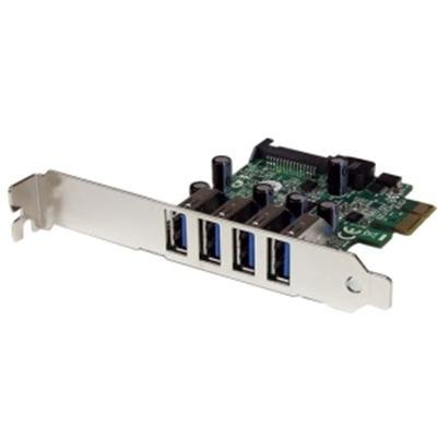Startech.com PEXUSB3S4V 4 Port PCI Express Adapter