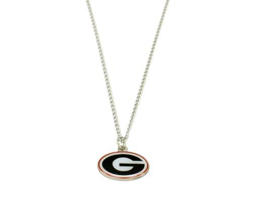 NCAA Georgia Bulldogs Team Logo Necklace