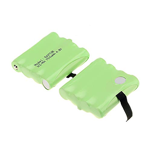 New Arrival !8 PCS 4.8V 700MAH NI-MH Rechargeable 2 Way Radio Battery for Midland BATT6R BATT-6R