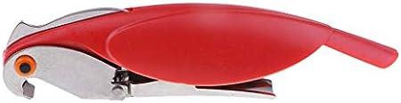 dailymall Abrebotellas de Sacacorchos de Tornillo de Vino Korkenzieher Accesorio para El Hogar Abridor de Botellas - 6, Individual