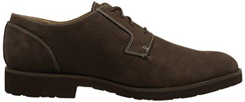 Sebago Mens Rutland Lace Up Boot, Dark Brown, 8 M US