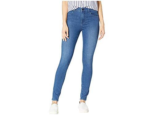 (J Brand Women's Maria High Rise Skinny Jeans, Solar, Blue, 27 )