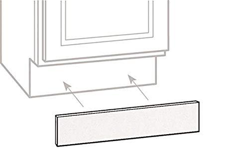 Cabinet Toe Kick Plate Pergo Outlast 4 Feet Long. Glazed Oak Unfinshed Plywd.