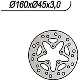 disco freno posteriore ng 669 160-?-45-3-5-6,5 hm 50 baja 10//10 junior 03//05