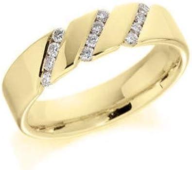 0.12CT DIAMOND MENS FASHION BAND