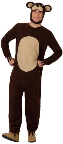 Atosa - Disfraz de oso para hombre, talla M/L (15680)