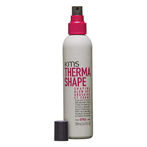 Shape Shaping Spray - KMS California Therma Shape Shaping Blow Dry Brushing (Blow Dry Activated Body and Shape), 200 mL/6.7 oz.