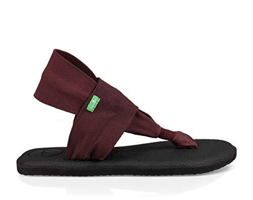 Sanuk Women's Yoga Sling 2  Sandal, Bitter Chocolat, 7