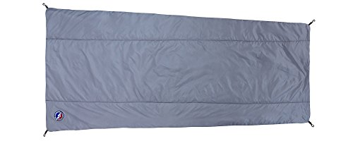 - Big Agnes Primaloft Synthetic Sleeping Bag Liner, Gray