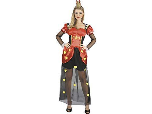 DISONIL Disfraz Reina de Corazones Mujer Talla L: Amazon.es ...
