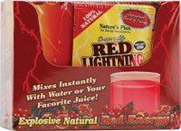 Nature's Plus Source of Life Red Lightning Antioxidant Energy Drink -- 20 (Lightning Energy Drink)