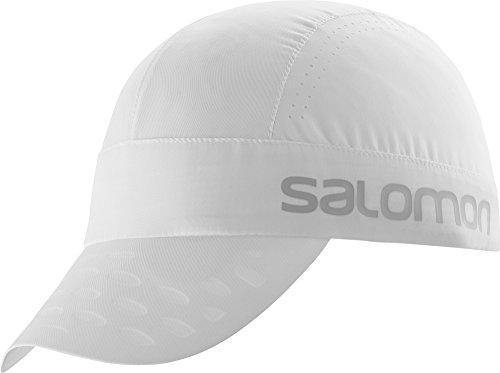 - Salomon Mens Race Cap, White, One Size