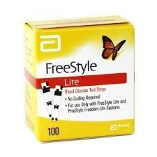 100 Freestyle Lite Test Strips (Pack of 3)