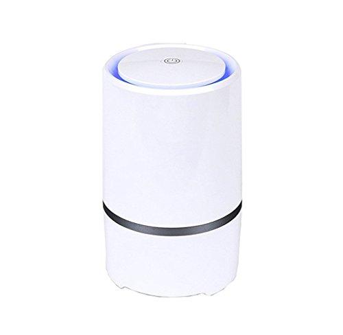 RIGOGLIOSO Desktop anion sterilization Air Purifier ,Portable Air Purifier,Air lonizer,True Hepa Homes Purifier Remove Cigarette Smoke, Odor Smell, Bacteria.Including a Power Adapter.