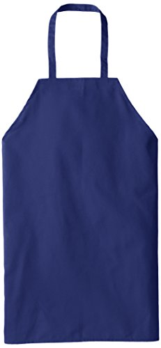 Red Kap Chef DesignsStandard Bib Apron, Royal Blue, 30x33