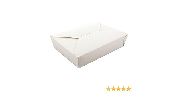 1 Pack of 40 96 oz Kraft Folded Takeout Box Royal Paper