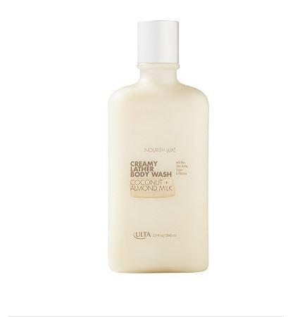 ULTA Luxe Creamy Lather Body Wash in Coconut + Almond - Luxe Almond Milk