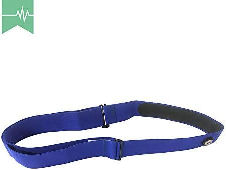 TAOPE Elastischer Sport Herzfrequenzmesser, Verstellbarer Brustgurt, Gürtelriemen, CooSpo Original HRM Belt