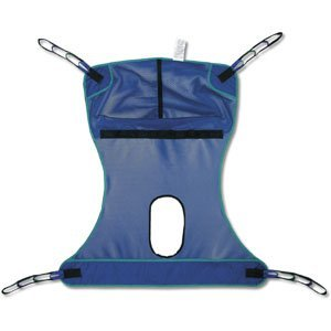 Invacare Compatible Mesh Full Body Sling with Commode Opening - Large