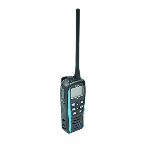 Uniden Waterproof Radio - ICOM M25 21 Handheld VHF Radio,IC-M25 BLUE