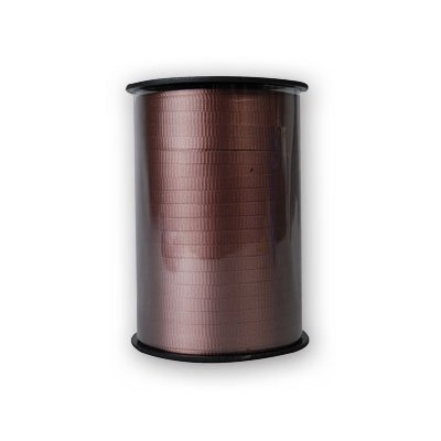 BALLOON WEIGHTS - RIBBON BROWN 500 YARDS #10519, CASE OF 48 by DollarItemDirect