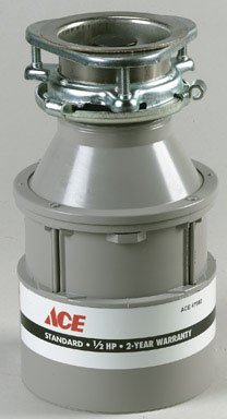 IN-SINK-ERATOR 2000 DISPOSER FOOD 1/2HP 2YR by ACE