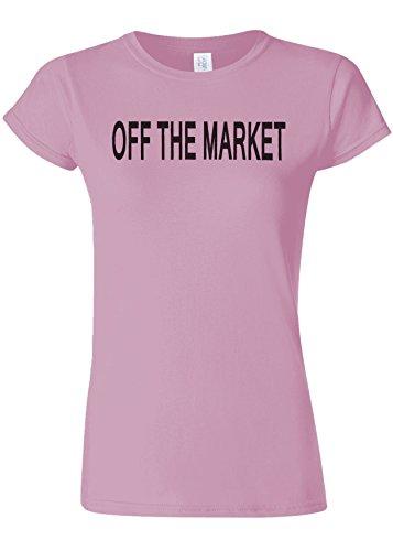 のれん風ディーラーOff The Market Funny Novelty Light Pink Women T Shirt Top-XL