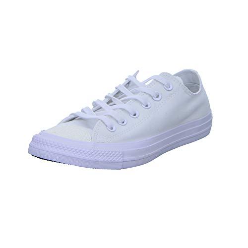 Converse All Para Blanco Mujer silver white Stars Zapatillas Chuck 000 white Taylor EOqXOr