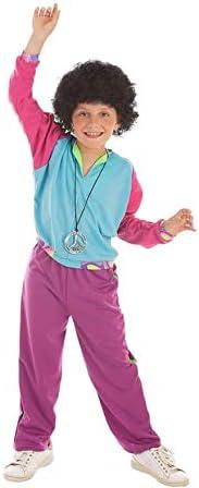 Disfraz de Deportista Años 80 para niño: Amazon.es: Juguetes y juegos