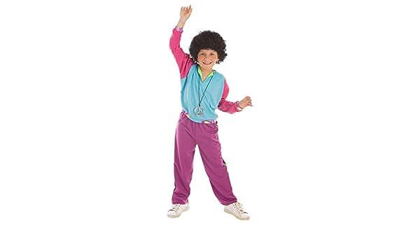 Creaciones Llopis Disfraz de Deportista Años 80 para niño: Amazon ...