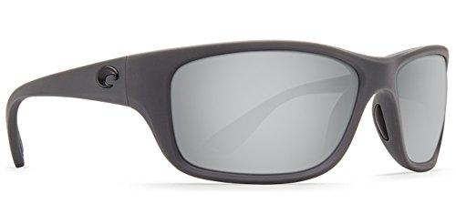 Costa Del Mar Tasman Sea Sunglass, Matte Gray/Silver Mirror - Del Used Sunglasses Mar Costa