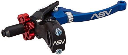 ASV Inventions CDC606PX-B C6 Blue Universal Pro Perch Clutch Lever (Asv Clutch Perch)