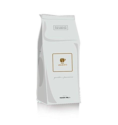 Lollo Caffe Gourmet Espresso - Whole Bean Espresso, 2.2-Pound Bag- Highest Quality Delicious Italian Blend- Italy's #1 Espresso