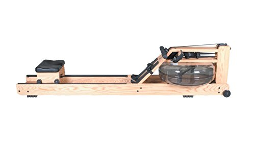 Water Rower Natural Rowing Machine in Ash Wood with S4 Monitor