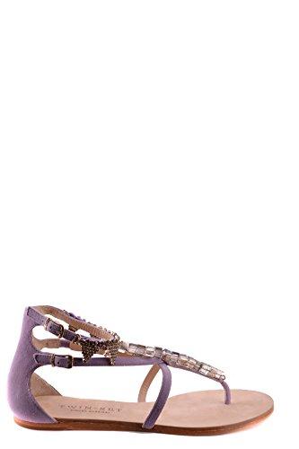 Twin Set Sandalias de Vestir Para Mujer Morado Morado It - Marke Größe