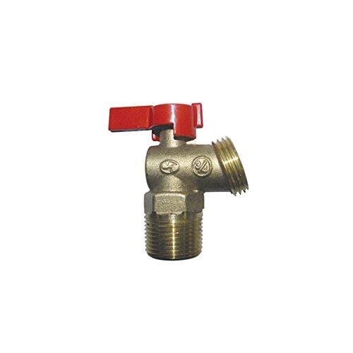 [해외]적색 - 흰색 밸브 12RW514 보일러 드레인 쿼터 턴 MNPT, 1 2/Red-White Valve 12RW514 Boiler Drain Quarter Turn MNPT, 1 2