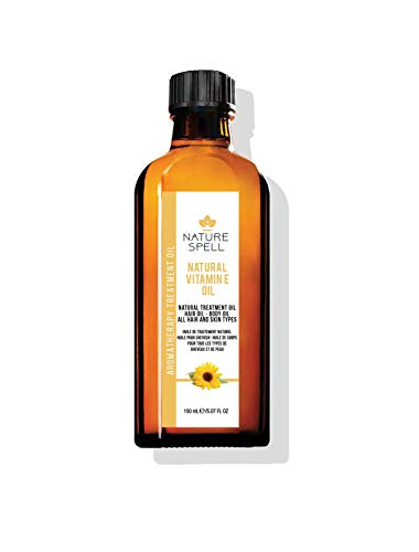 Nature Spell Vitamin E Treatment Oil For Hair & Body 150ml / 5.07 FL OZ