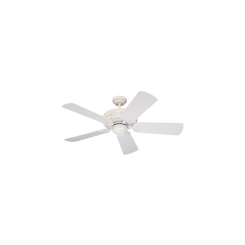 Monte Carlo Fans 5DS44WH White Ceiling Fan White