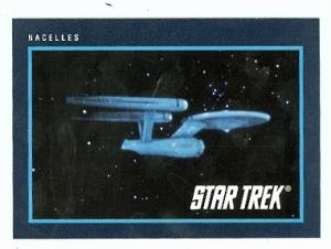 Star Trek card #291 Nacelles USS Enterprise at Amazon's