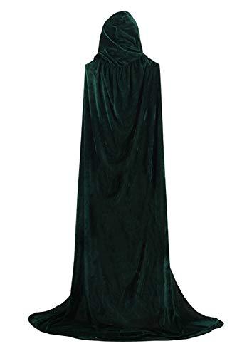 Più Dimensioni Donne Mantelli Di Le Sopliagon Halloween Green Cosplay Costume Incappucciato 8BwngOq