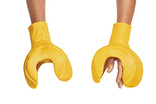Disguise Men's Lego Iconic Adult Hands, Yellow, One Size -