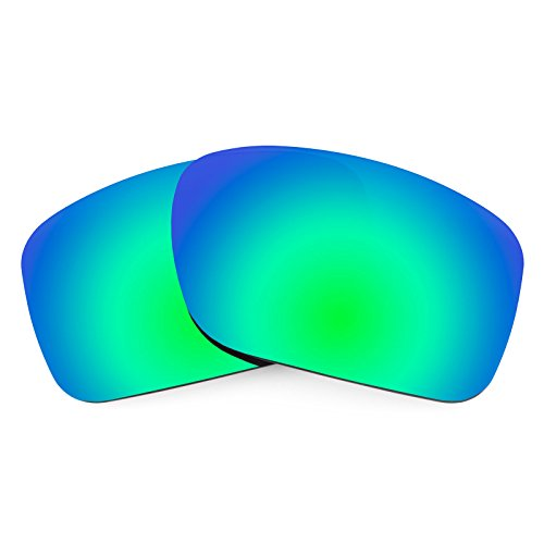 Revant Polarized Replacement Lenses for Oakley Turbine Elite Rogue Green - Precision Polarized Lenses Green