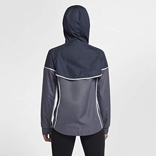 Nike Women's Sportswear Windrunner Jacket(Light Carbon/Thunder Blue, XS) by Nike (Image #3)