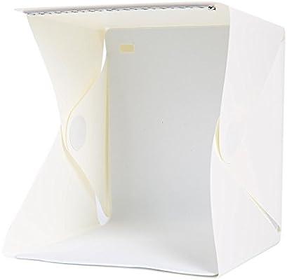 Foto caja de luz para joyas y objetos pequeños (tamaño 9 x 9
