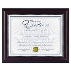 -prestige-document-frame-rosewood-black-gold-accents-certificate-8-1-2-x-11